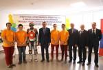 Состоялась церемония открытия отборочных соревнований