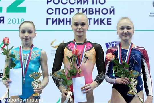 Шесть наград привезли ростовчане счемпионатаРФ поспортивной гимнастике