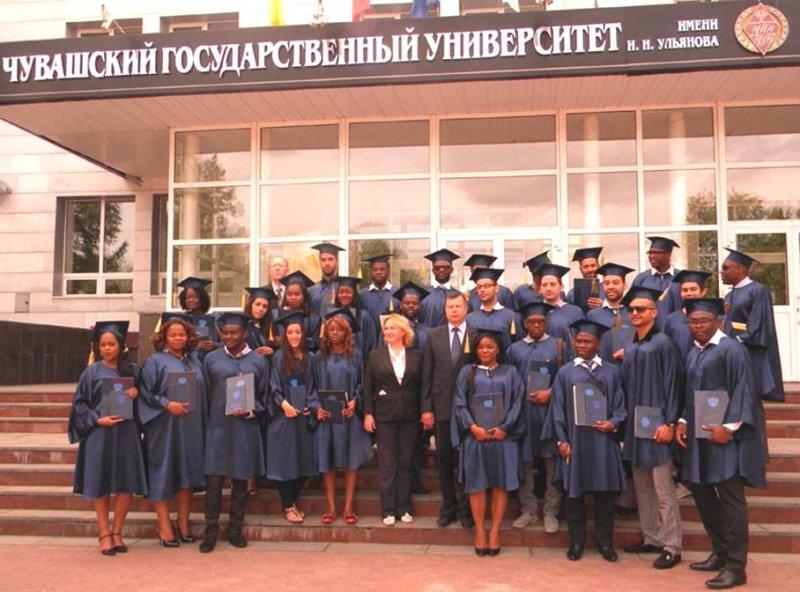 В ЧГУ дипломы о высшем образовании получили студенты из ти  В ЧГУ дипломы о высшем образовании получили студенты из 17 ти стран