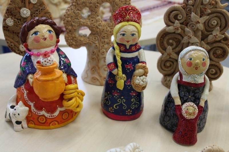 Народные игрушки из соленого теста своими руками 40