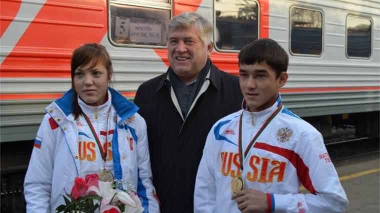 Самбисты Чувашии в составе сборной России одержали победу на Кубке Европы