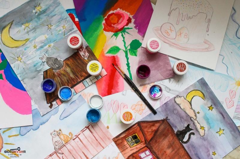 Конкурс детских рисунков в библиотек