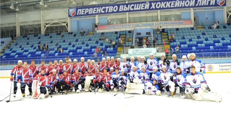 ХК «Мордовия»— владелец Кубка руководителя Чувашии