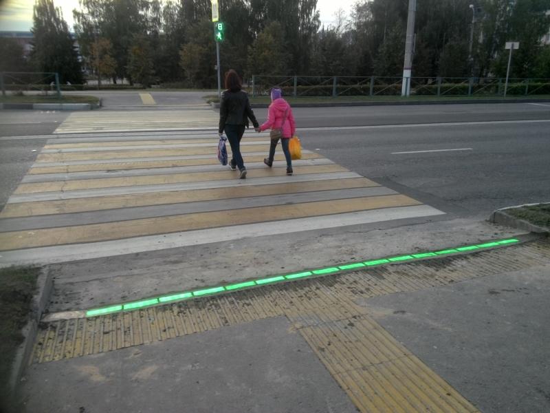 ВЧебоксарах появился 1-ый «светофор под ногами»