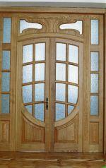живое течение: двери