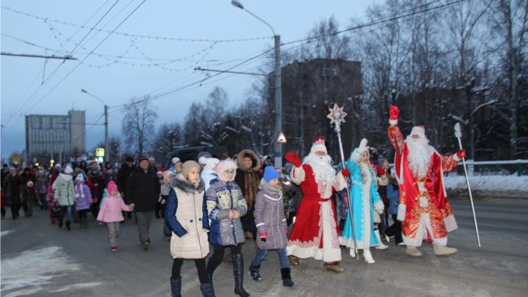 Новогодний парад Дедов Морозов— вВоронеже!