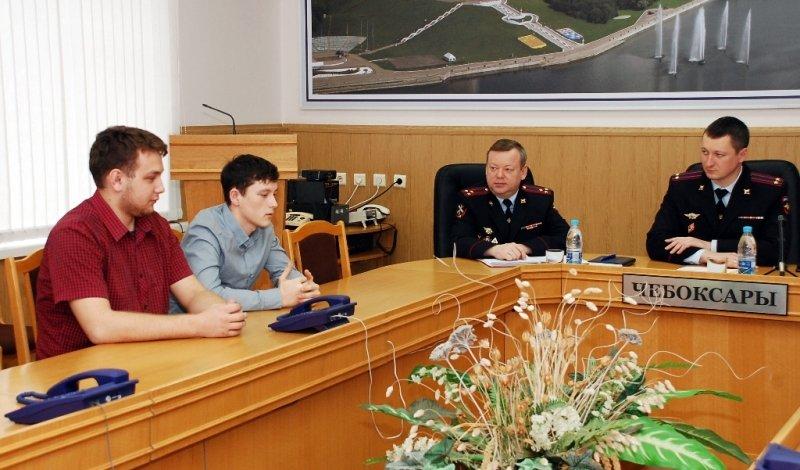 В МВД по Чувашской Республике подвели итоги акции'Студенческий десант