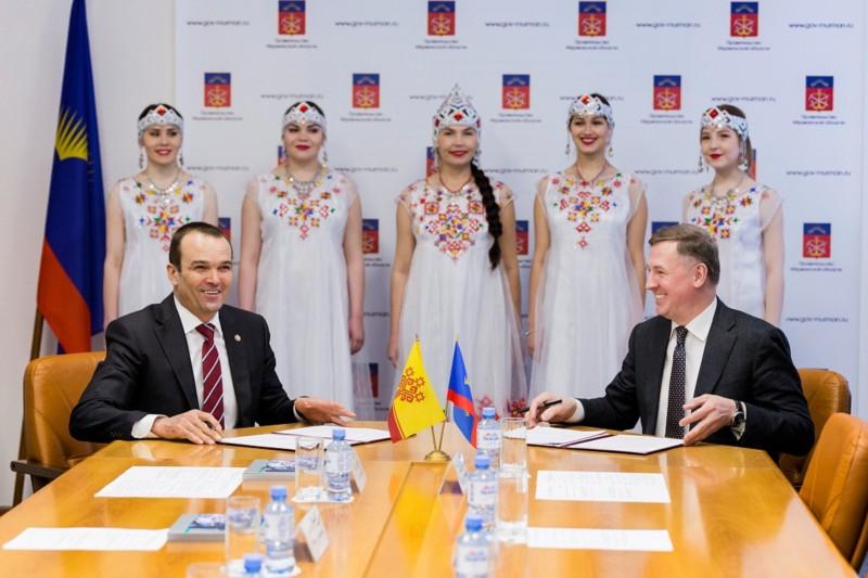 Укрепляются экономические взаимоотношения между Чувашией иМурманской областью