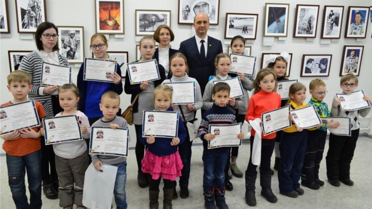 Лауреаты конкурса рисунков