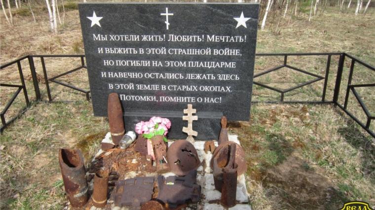 Касимовские поисковики отыскали останки четырех бойцов РККА вЛенобласти