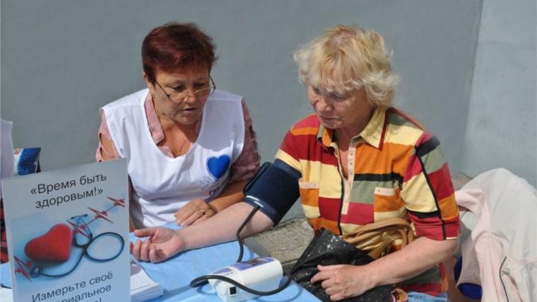 13мая «Сосудистый патруль» приглашает измерить артериальное давление