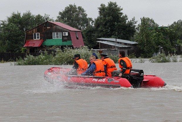 Рубцовчан просят оказать помощь жителям Дальнего Востока