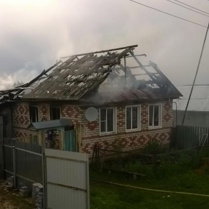 ВЧувашии после жуткого пожара частного дома отыскали обгоревший труп