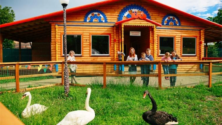 В Детском парке им. Николаева продолжаются работы по благоустройству