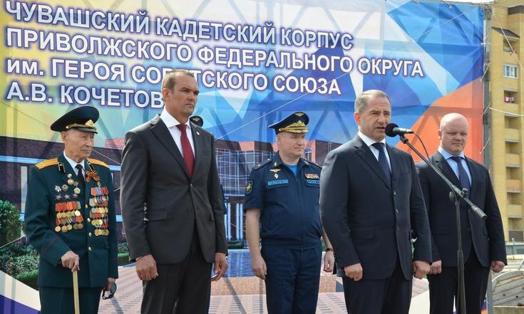 Комплекс кадетского корпуса на400 человек планируется построить вЧувашии
