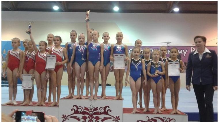 Юные гимнасты из Чувашии успешно выступили на первенстве ПФО