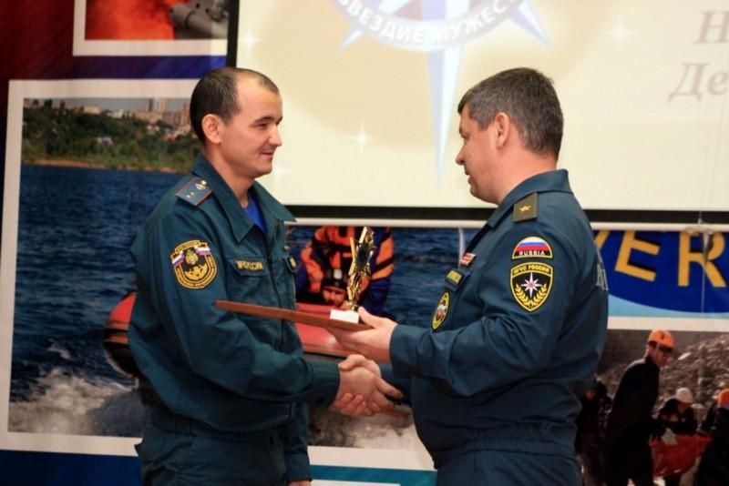 Камчатский спасатель победил наВсероссийском конкурсе МЧС «Созвездие мужества»