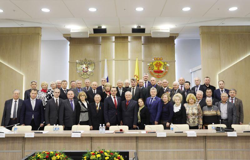 Глава Чувашии Михаил Игнатьев встретился с Советом старейшин