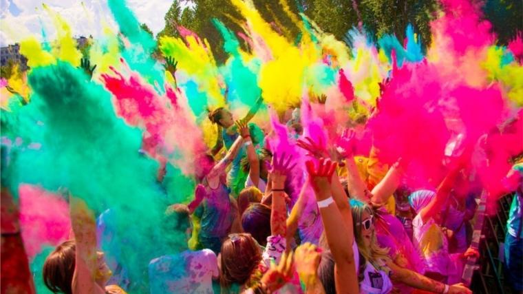 В Ельниковской роще вновь пройдет Фестиваль красок