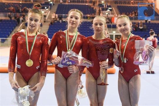 Елена Герасимова завоевала четыре медали на международном турнире по спортивной гимнастике в Италии