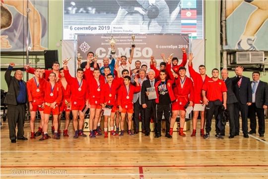 Самбисты Чувашии успешно выступили на международном юношеском фестивале в Москве