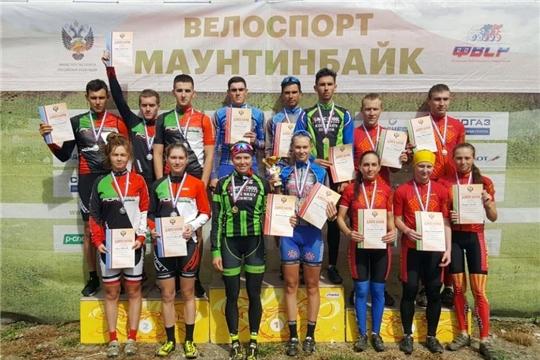 Чебоксарские спортсмены отличились на чемпионате России по маунтинбайку