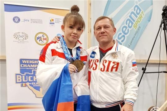 Наталия Шайманова из Чувашии – чемпионка Европы по тяжёлой атлетике среди молодёжи