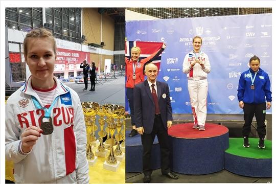 Анастасия Александрова стала чемпионкой мира по гиревому спорту!