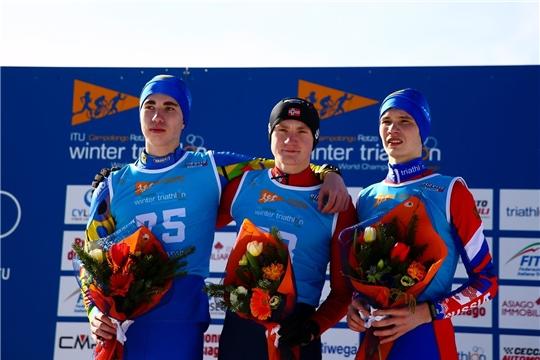 Данила Егоров из Чебоксар – призер первенства мира по зимнему триатлону