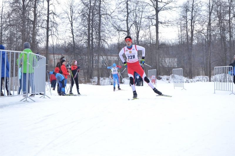 Разыграны медали первенства Чувашии по лыжным гонкам среди спортивных школ