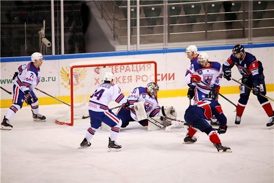 ХК 'Чебоксары' вышел в полуфинал плей-офф Кубка Федерации-2020