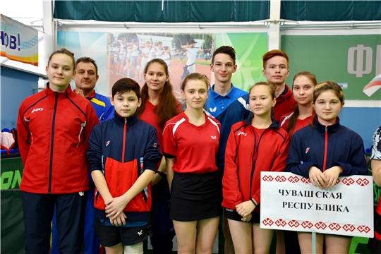 Спортсмены Чувашии завоевали медали чемпионата России по настольному теннису среди глухих