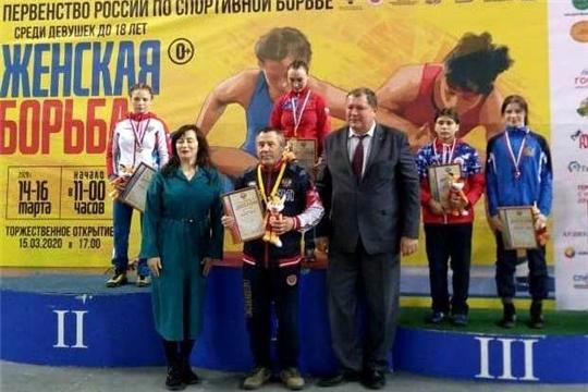 Спортсменки Чувашии выступили на первенстве России по женской вольной борьбе