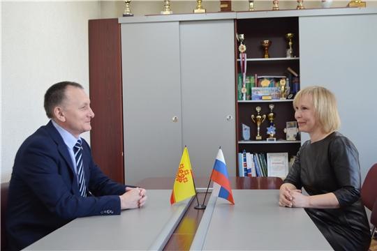 Василий Петров провёл рабочую встречу с руководителем региональной Федерации спортивной гимнастики
